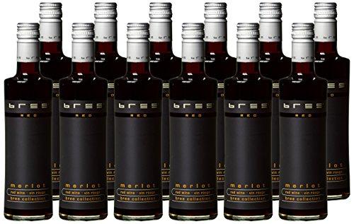 Bree Red Merlot, 12 x 250 ml