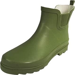 Womens Ankle Rain Boots - Ladies Waterproof Winter Spring Garden Boot