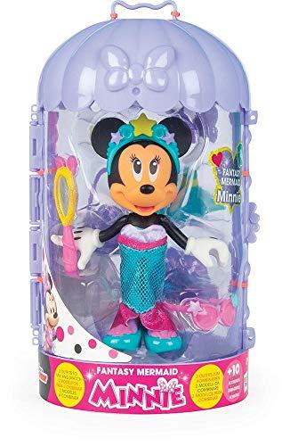 Minnie Mouse- Minnie Fashion Doll Sirena Juguete, Multicolor, Talla unica (China 1) , color/modelo surtido