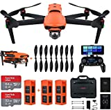 Autel Robotics EVO 2 Drone 8K Camera Foldable Drone Quadcopter Rugged Bundle (2021 Fly More Combo)