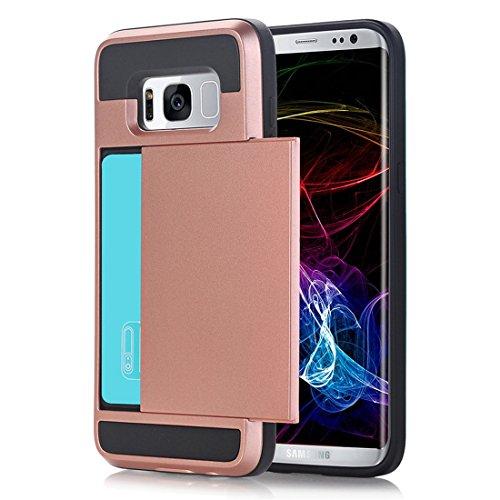 Telefoon Hoesje Case voor Samsung Galaxy S7 Hoesje Case Hybride harde kaart opslag Armor Hoesje Case Case Accessoires voor S7 (5.1 inch) Pantser Hoesje Case Samsung Galaxy S7 Edge 5.5 inch S7 Edge-7