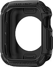 Spigen Apple Watch Funda, Tough Armor diseñado para Apple Watch 44mm Series 5 / Series 4 Case - Negro