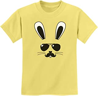 Tstars - Cool Easter Bunny Face Holiday Gift Cute Youth Kids T-Shirt