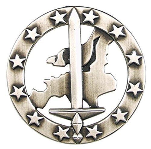 Bundeswehr Barettabzeichen, Eurocorps, Metall
