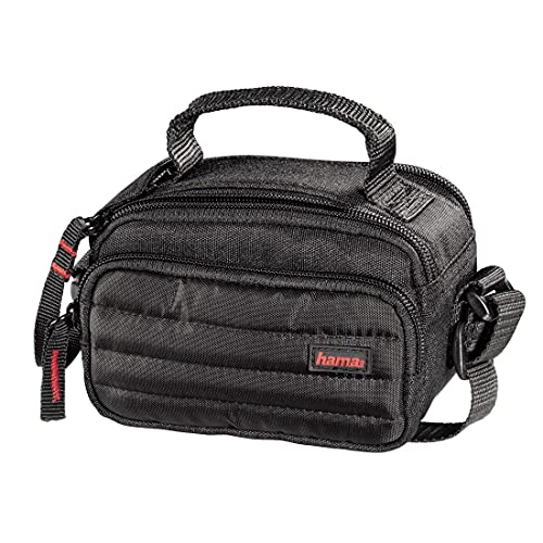 Hama Kameratasche/Videotasche gepolstert für eine Digitalkamera/kompakte Systemkamera und Camcorder, Syscase 90, Schwarz