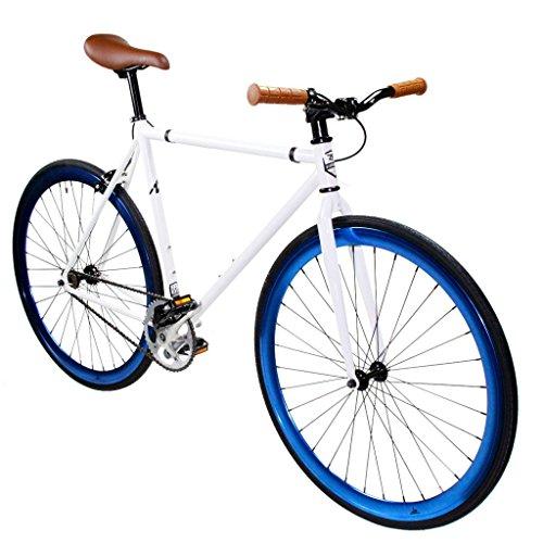Zycle Fix ZF-PE-55 Pearl Fixed Gear Bike, 55cm/One Size Frame