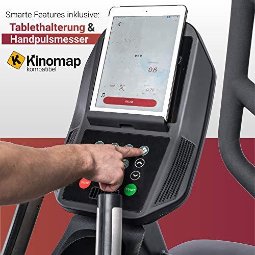 Fuel Fitness EC1000 Crosstrainer App- Steuerung