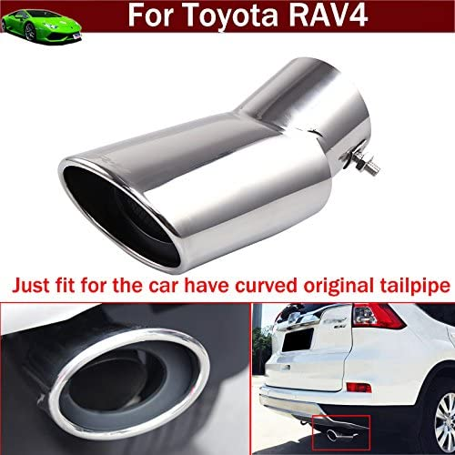 Car Fixed price for sale Extension Pipes Exhaust Pipe Tip Max 83% OFF Rear Trim Muffler Tail