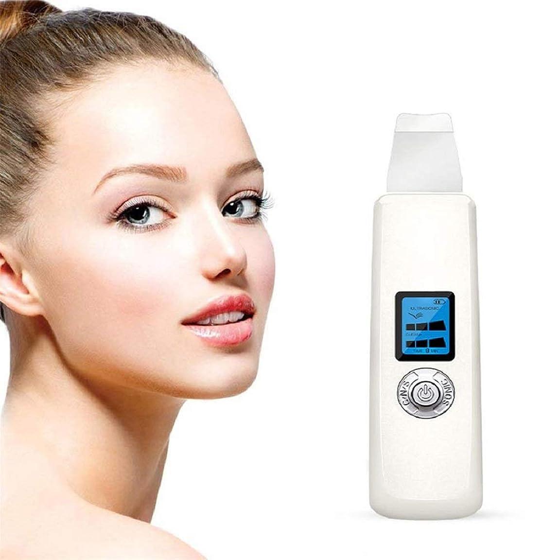 雇用者アダルト明るいハンドヘルド美容機器、美容機器フェイシャルスキンピールダーマブレーション、肌の若返り防止アンチエイジングデバイス肌へら
