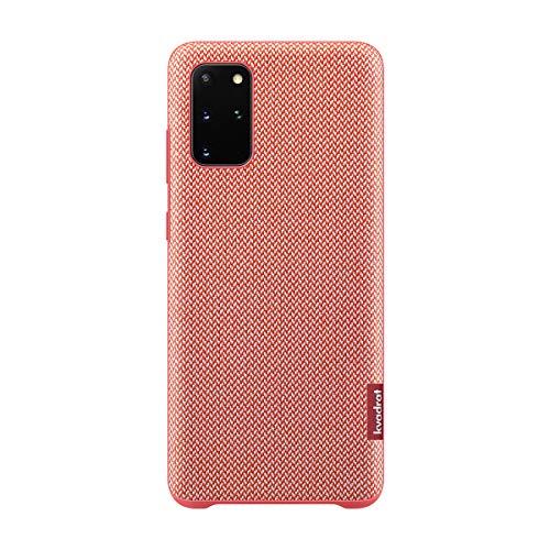 Samsung Official Genuine Galaxy S20 Plus Kvadrat Cover EF-XG985FREGKR / International Version (Red (S20+))