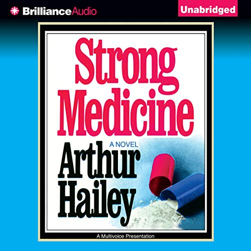 Strong Medicine audiobook cover art