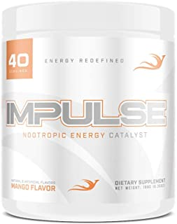 Sponsored Ad - Impulse ─ Nootropic Brain Booster Energy Drink ─ Improve Focus, Concentration, & Energy ─ w/CDP-Choline, Hu...