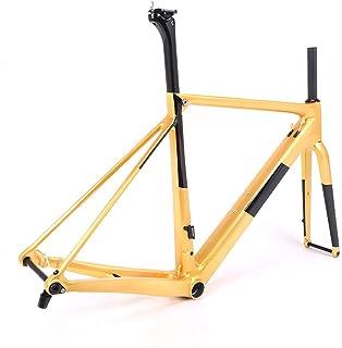 BXT New Carbon Bike Frame Ultralight Carbon Road Frame T800 700C Full Carbon Road Frame Bicycle Frameset Fork Seatpost