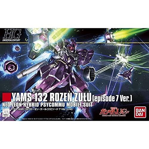 Bandai Hobby 185 1/144 Hguc Yams-132 Rozen Zulu (Episode 7 Ver) Gundam Unicorn modèle kit