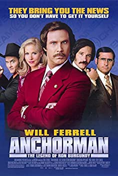 Anchorman  The Legend of Ron Burgundy Poster Movie  11 x 17 Inches - 28cm x 44cm   2004   Style B