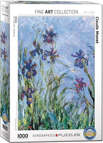 EuroGraphics Iris par Claude Monet Puzzle (1000 pièces)