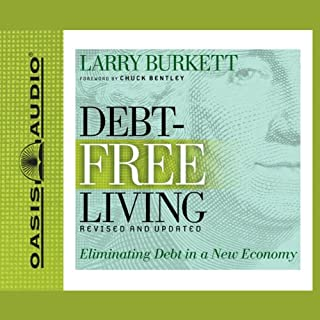 Debt-Free Living audiobook cover art