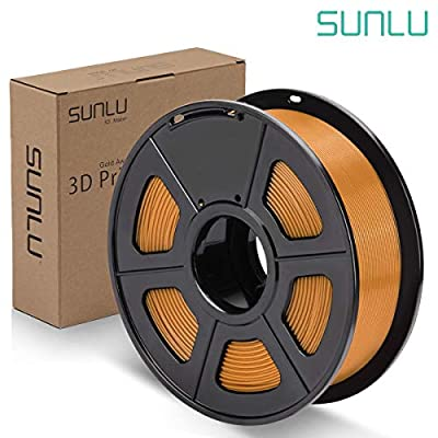 SUNLU PLA Plus Filament 1.75mm 3D Printer 3D Pens 1KG PLA+ Filament +/- 0.02 mm, PLA+ Coffee