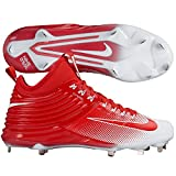 Nike Lunar Trout 2 Men Mike Baseball Cleats (13 M US, Red/White)