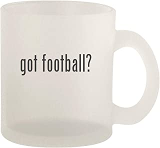 got football? - Glass 10oz Frosted Coffee Mug
