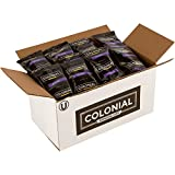 Colonial Coffee, 100% Colombian, Medium Roast Ground Coffee, 2.5 OZ Fraction Packs, 32 COUNT box, Bulk Bags