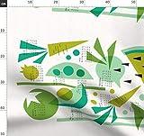 Obst, Grün, Struktur, Geschirrhandtuch, Wassermelone