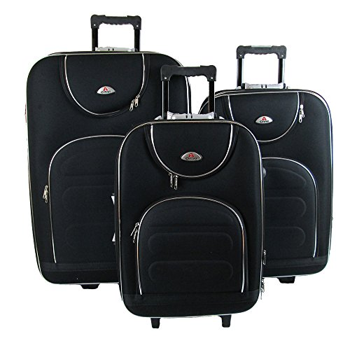 OR&MI - Juego de maletas Negro negro