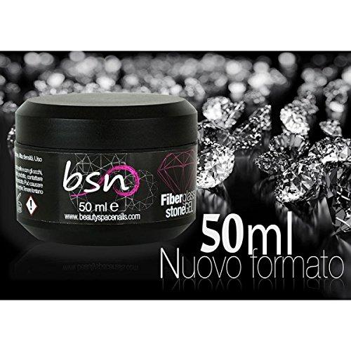Gel monophase de reconstruction Haute densité pour Nail Art 50 ml fiberglass