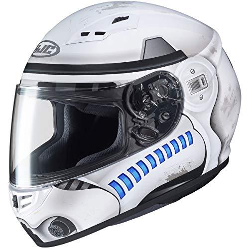 HJC CS-R3 Stormtrooper Mens Street Motorcycle Helmet - MC10SF / Small
