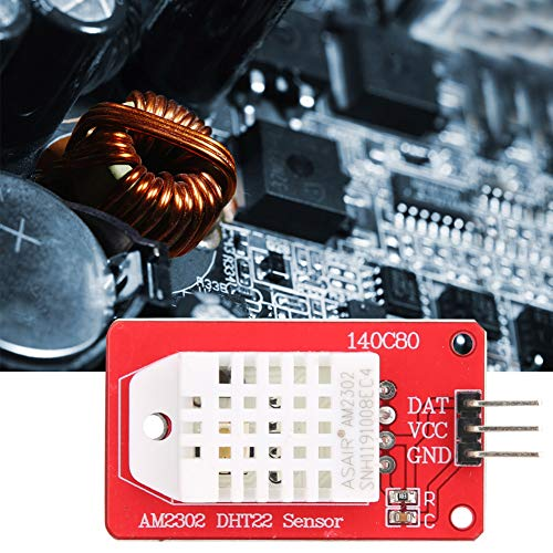Weikeya Temperature and Humidity Sensor Module, Made of Component 5V -40-80℃ ±0.5℃ Temperature Humidity Sensor for Scm