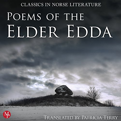 Couverture de Poems of the Elder Edda