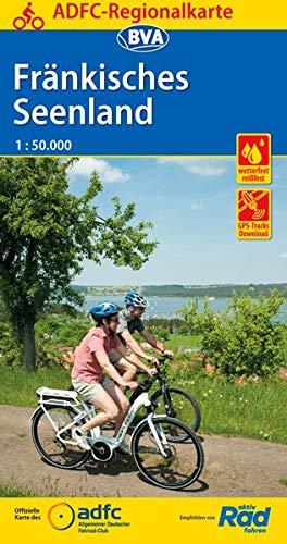 ADFC-Regionalkarte Fränkisches Seenland, 1:50.000, reiß- und wetterfest, GPS-Tracks Download (ADFC-Regionalkarte 1:50000)