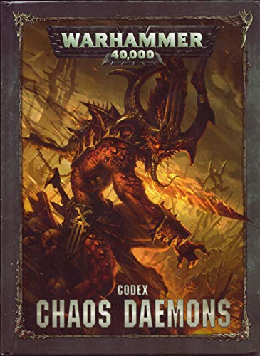 Unbekannt Warhammer 40.000 40K Codex: Chaos Daemons (HB) (Deutsch) (97-02) Dämonen des Chaos Games Workshop
