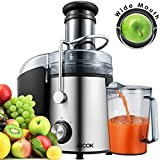 Aicok Juicer Wide Mouth Juice Extractor 1000 Watt Centrifugal Juicer Machine Powerful Whole Fruit...