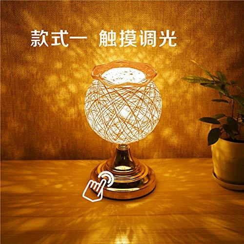 Filament Fadenlampe Für Nostalgie Retro Industry Style, Kreatives Schreibtischlampe-Nachtlicht Des Schlafzimmers Zu Hause, A