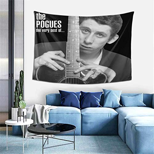 ChristieAHodge The Pogues Poster The Very Best of The Pogues Tapestries Wall Art Hanging Tapestry Curtain Home Decorations for Living Room Bedroom Dorm Decor 60x40 Inch