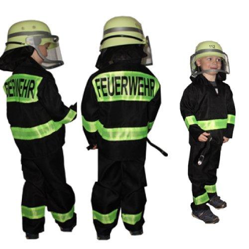 Feuerwehr-Uniform für Kinder, Gr. 104