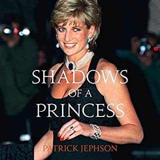 Shadows of a Princess audiobook cover art