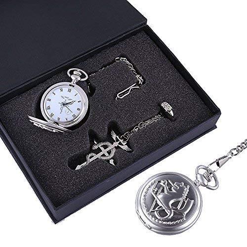 Fullmetal Alchemist Edward Elric's Pocket Watch Set Cosplay