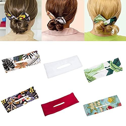 primrosely 1 unidades para hacer trenzas para el pelo Color aleatorio faule magia, cinta flexible para el pelo, herramientas para peinado, accesorios para el pelo para niñas y mujeres