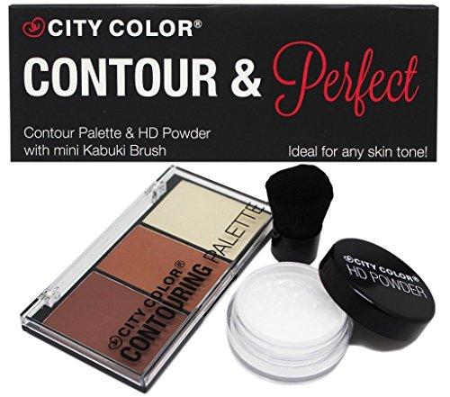 CITY COLOR Contour and Perfect Powder Makeup Kit