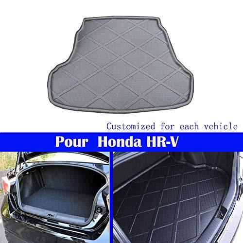 Le nouveau noir mat tapis de coffre de voiture de queue de tapis de coffre Pour HRV HR-V 2015 2016 2017 2018 2019 2020 2021 2022