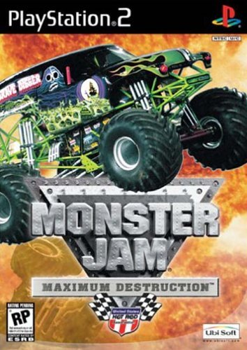 Monster Jam Maximum Destruction (PS2) by UBI Soft