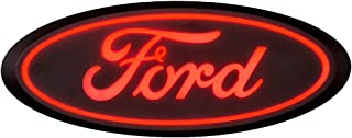 Putco 92604 Luminix Ford Led Emblems Rear Red Luminix Ford Led Emblems