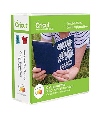 Cricut CRTDG Intricate Cut Quotes, Multicolor
