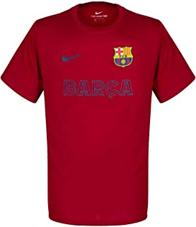 Barcelona Core Match Tee - Red 2019-2020