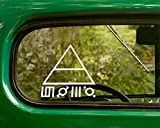 2 30 Thirty Seconds to Mars Decal Band Stickers White Die Cut for Window Car Jeep 4x4 Truck Laptop Bumper Rv