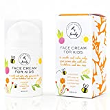 Gentle Face Cream Moisturizer for Kids and Preteens with Normal to Oily Skin, Kids Acne Treatment – Nourishing and Calming for All Skin Types – Unscented - Free from Parabens, Sulphates, Natural ingredients and Vegan - Best Face Cream for Kids and Teens - - Made in UK