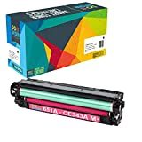 Do it Wiser Compatible Toner Cartridge Replacement for HP 651A CE343A for use in HP Laserjet Enterprise 700 MFP M775 M775dn (Magenta)