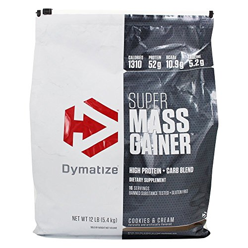 Dymatize Super Mass Gainer - 5,23 kg Cookies and Cream